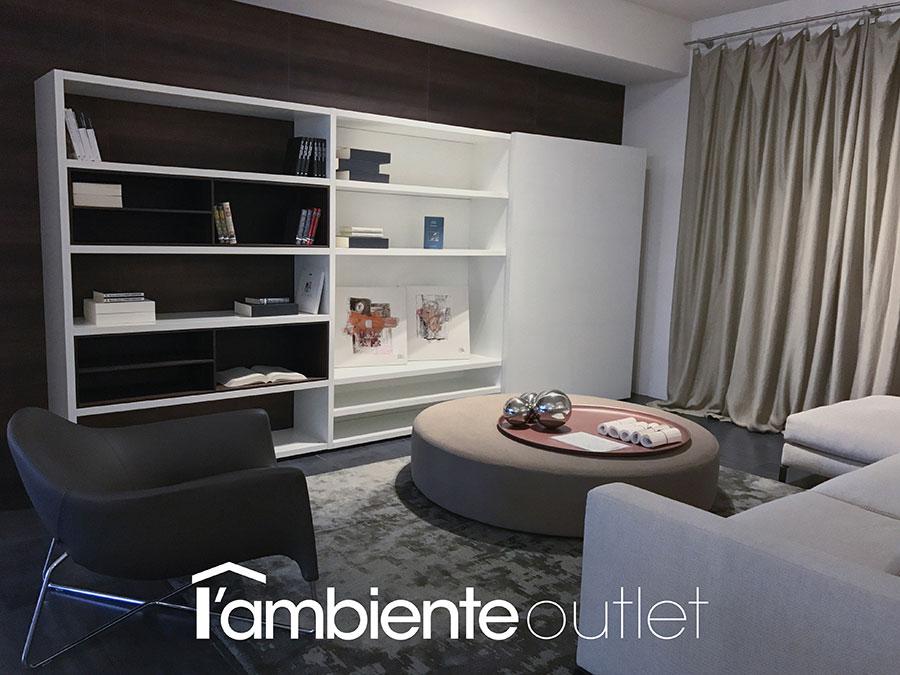 Poliform - Libreria Mod. Wall-system - LAMBIENTE : LAMBIENTE